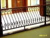 Galvanized steel powder coated assembly design balcony guardrails