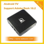 Android 2.3 Wifi TV Box Support Adobe flash 10.2
