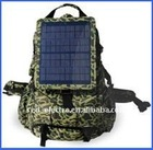 Camouflage Color Solar Backpack