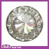 Round Shape Alloy Buttoms with Crystal Rhinestone for Garment accessories