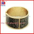 2012 hot sale 10K gold leather bracelets