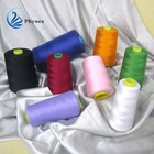 100% spun polyester sewing thread