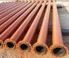 abrasion resistant weld on flange pipe