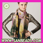 Cashmere Wool Designer Scarf Wrap Silk Pashmina Shawls For Women