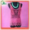 Fashion lady's lace top/waistcoat