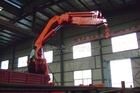 63T.M truck mounted crane& knuckle arm truck crane