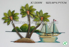 Coconut tree designs wall hanging for home decor