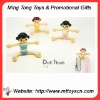 2012 new style lovely doll plastic chain pothook