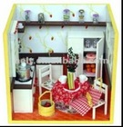 diy wooden dolls house, kids dollhouse,wooden doll house