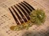 shining headdress with rhinestone