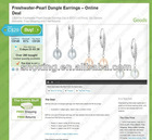 Canada Groupon Top Rated Freshwater Pearl Dangle Earrings With Sterling Silver