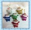2012 Santa Claus,christmas toy,Rag doll,christmas,Golden cloth,christmas gift