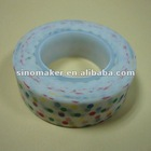 green colorful dots washi tape for party decorations and DIY papercrafts