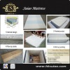 Pillow top latex foam spring mattress roll sale well in Australia