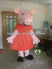 2013 peppa pig mascot