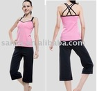 lady and girl fitness and sportswear