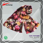 2013 Newest Style Digital Printed Lace Scarf