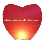 ECO Heart Flying sky lantern for wedding party