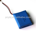 7.4v 3000mah Lipo rechargeable battery pack for PSP,MID,DVD player