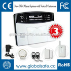 GSM Wireless SMS alarm systems with LCD Security Auto-dial