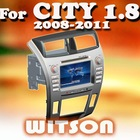 WITSON 7 Inch 2 din Car DVD for CITY 1.8 with GPS honda city