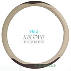 Simulated aligator hide steering wheel cover for car
