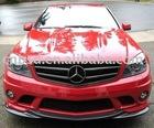 08-10 Mercedes Benz C63 AMG L1 Style Carbon Fiber Lip