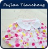 100% Cotton children breathable blouse