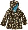 lovely printed pu children raincoat