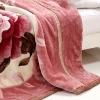 polyester coal fleece blanket/coral velvet blanket