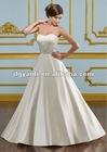 Luxurious Silver Crystal Wedding Dress 01567