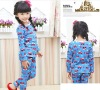 2012 Latest Korean Baby Girll Christmas Homewear For 2-12 Years old China Big Export Wholesale