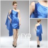 New style of one-shoulder design short party dress