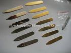 Mirror surface brass collar stay