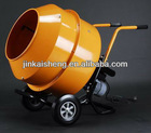 Small movable cement mixer