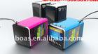 LED light speaker/Cheapest promotional gifts/portble mini speaker