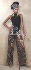 8TR029New! Slacks Printed Trouser