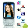 Flying F606 QWERT keyboard android smart phonewith GPS WIFI TV Dual sim