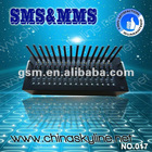 GSM modem/rs232 16 port gsm modem pool to send bulk sms serial port gsm modem