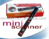 Portable Mini handy 600*600 dpi A4 scanner