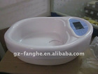 detox foot spa basin with big LCD/ion cleanse foot spa basin