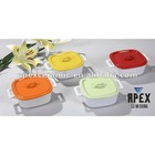 Colorful Mini Ceramic Casserole Sets With Lid (DS-708)