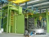 Large casting sand blasting machine