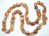 "14*16mm 15"" anomalistic agate loose strand"