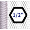 "Galvanized Chicken Wire 13mm (1/2"") holes"
