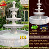 white marble fountain sculpture for Garden decoration WL0044
