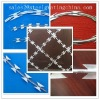 Cross Razor Barbed Wire Low Price(Factory)