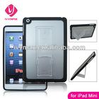 tpu and pc combo case for ipad mini case