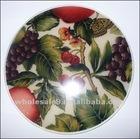 cherry & grape cloth silicone baking mat