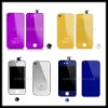 Electroplating Colors Conversion Kits for iPhone 4S-LCD Digitizer+Touch Screen+Battery Cover+Home Button